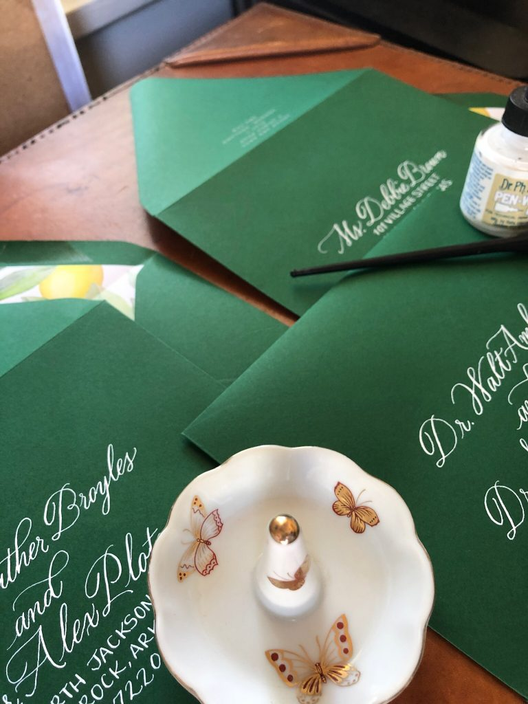 Custom Calligraphy Services